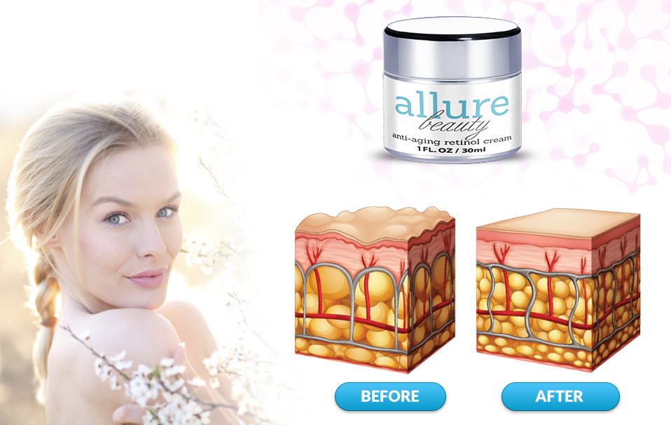 Allure Beauty - Skin Before and After